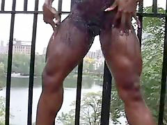 Ebony muscle, Muscle sex, Muscle ebony