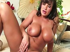 Lisa ann, Lisa milf, Playing with her tits, Solo milf pussy, Milf big pussy, Milf anne