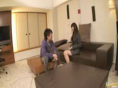 Shiori, Office legs, Asian gal, Hazuki, Asians spreading, Asian, legs