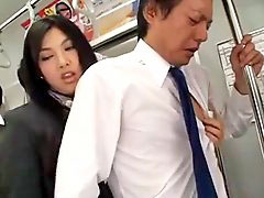 Girl makes girl cum, Train japanese, Subway, Gushing, Japanese training, Gush