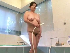 Aunty, My aunty, Asian shower, Aunties in shower, Aunties, Aunti