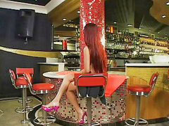 Bar, Dany, Woodward, Bar anal, Redhead big cock anal, Sex in bar
